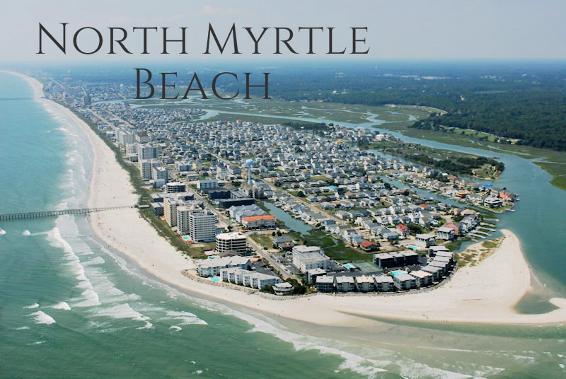 Cherry Grove section of North Myrtle Beach