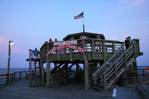 Fishing pier in North Myrtle Beach