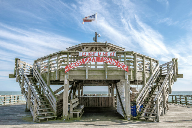 Myrtle beach vacation home rentals affordable large for North myrtle beach fishing pier