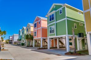 Beach house rentals at South Beach Cottages