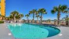 Outdoor oceanfront pool in front of the resort